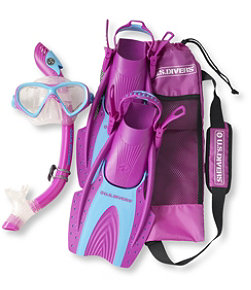 Kids' U.S. Divers Snorkeling Set