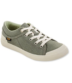 Women's Teva Freewheel Washed Canvas Sneakers