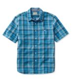 L.L.Bean Madras Shirt, Slightly Fitted Short-Sleeve