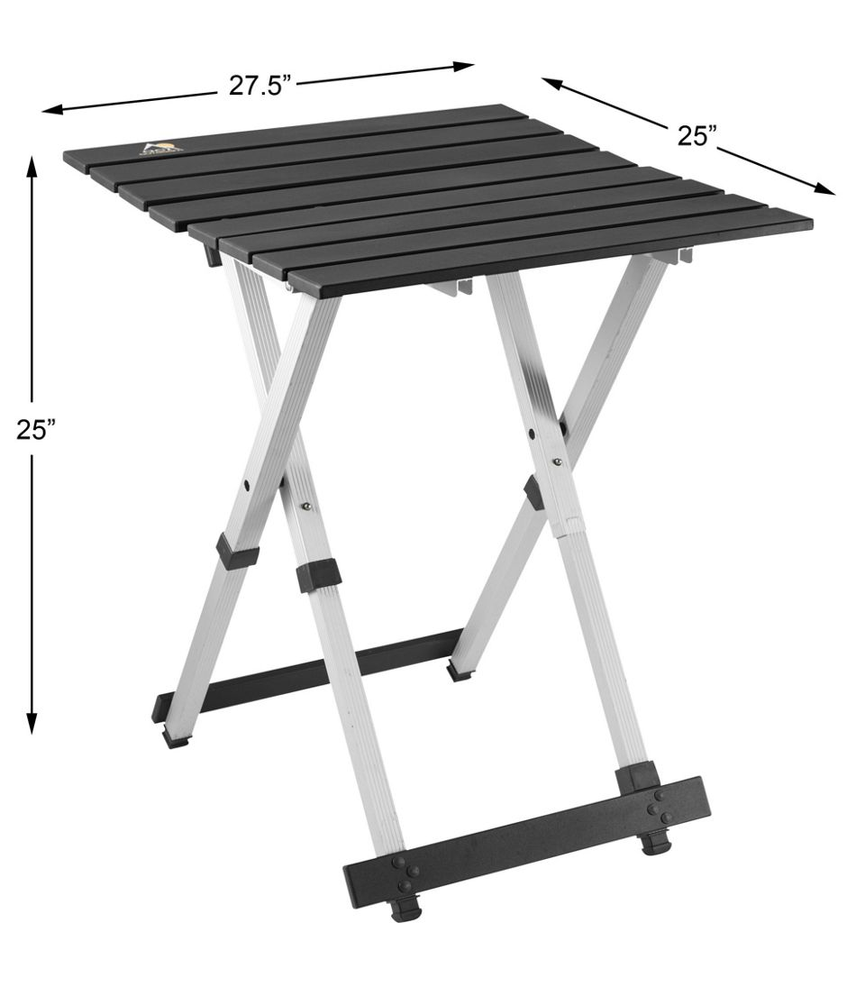 Compact Camp Table, 25""