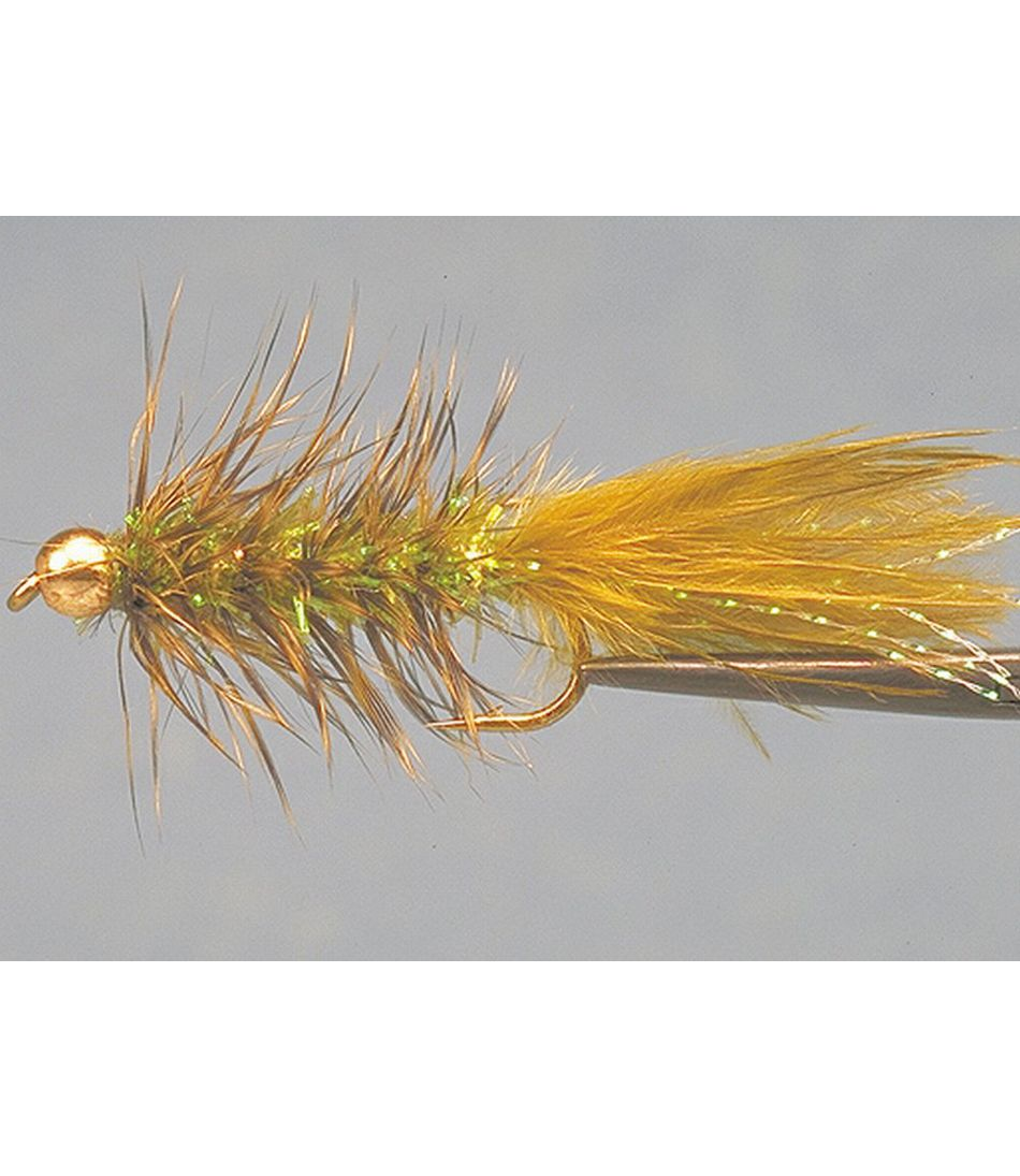Gold Bead Crystal Bugger, 2-Pack