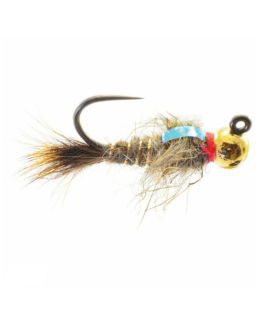 Tungsten Jigged Hare's Ear Nymph, 2-Pack