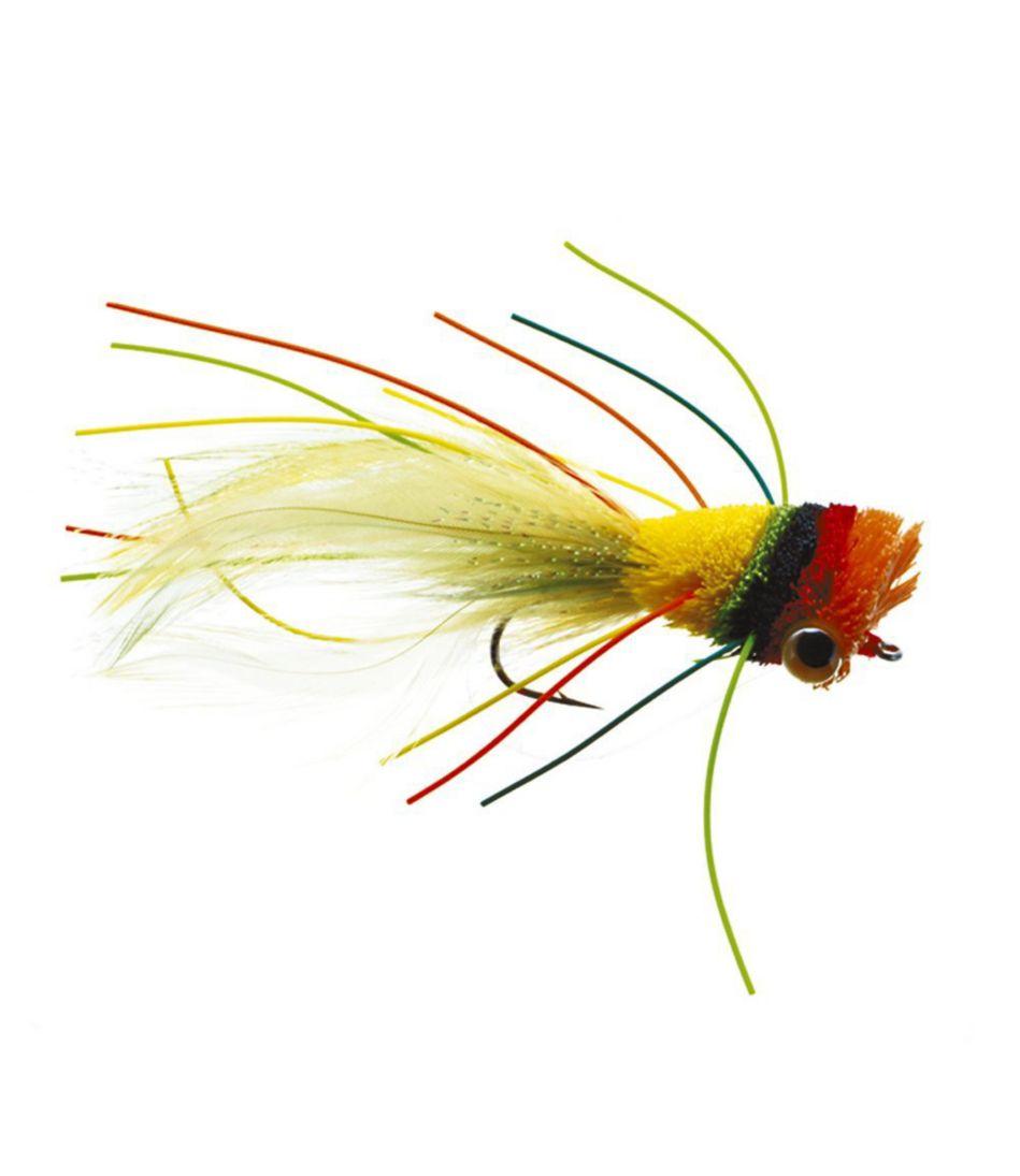 Bass Bug Deerhair Weedless 1 Pack