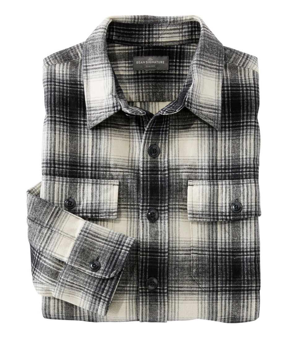 Signature 1933 Chamois Cloth Shirt, Slim Fit Plaid