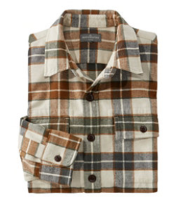 Men's Signature 1933 Chamois Cloth Shirt, Slim Fit Plaid