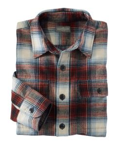 Men's Signature 1933 Chamois Cloth Shirt, Slim Fit, Plaid