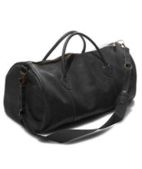 Signature Leather Duffle