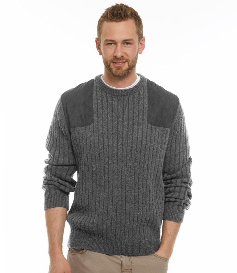 Men's PrimaLoft/Wool Shooter's Sweater