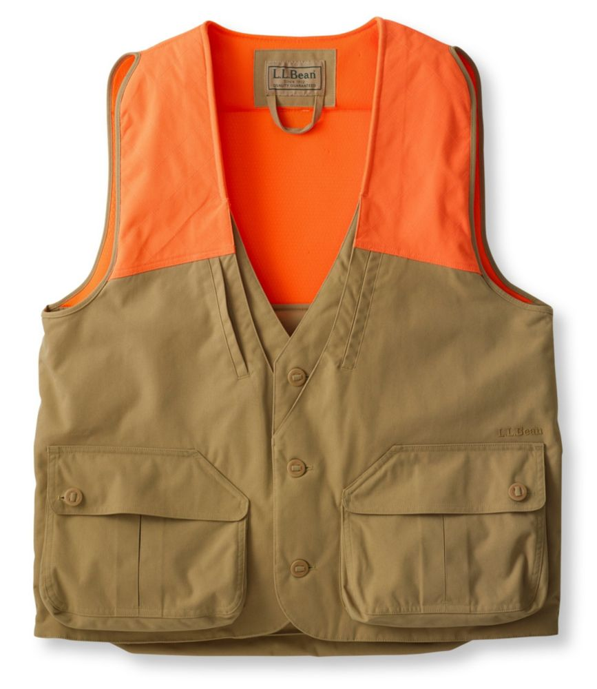 This upland bird hunting gift idea photo shows the L.L.Bean Double L Upland Hunter's Vest.