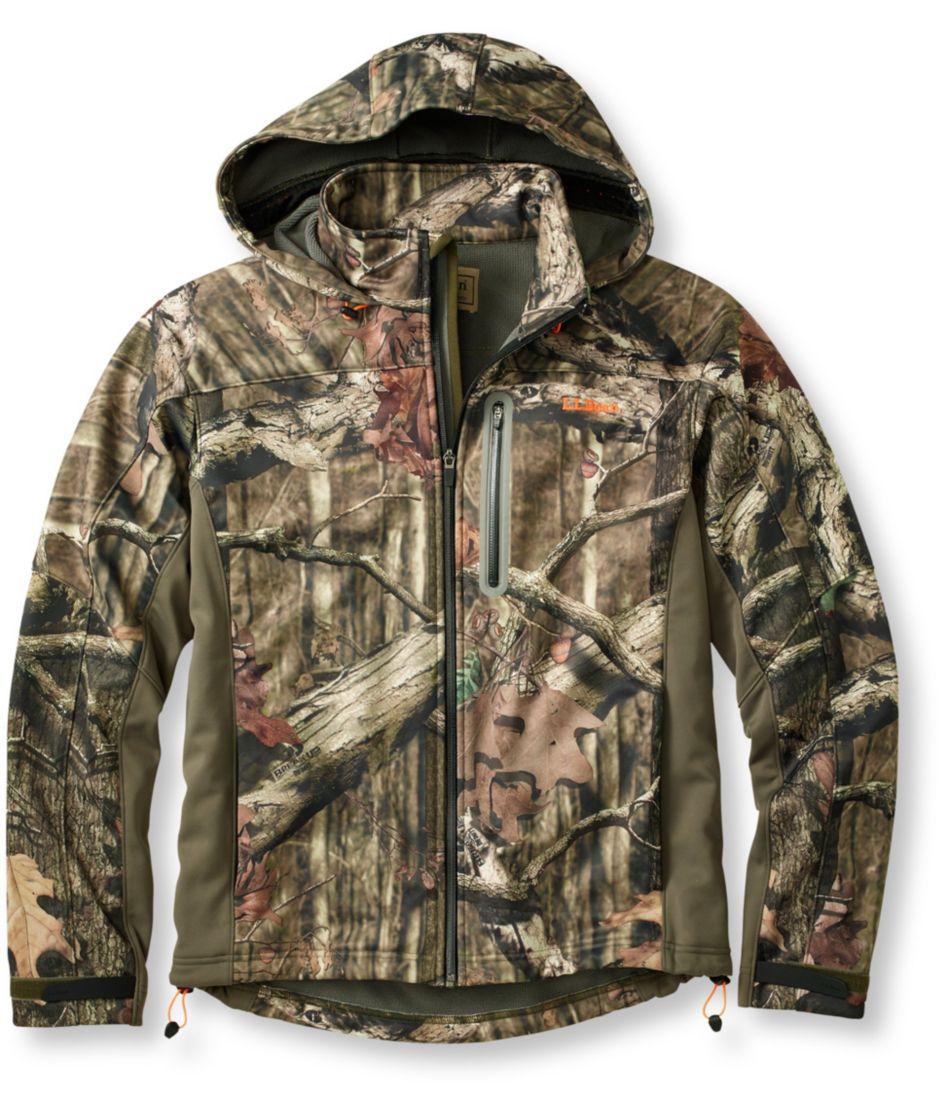 L.L.Bean Big-Game WINDSTOPPER Soft-Shell Jacket, Camouflage