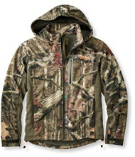 Men's L.L.Bean Big-Game WINDSTOPPER Soft-Shell Jacket, Camouflage