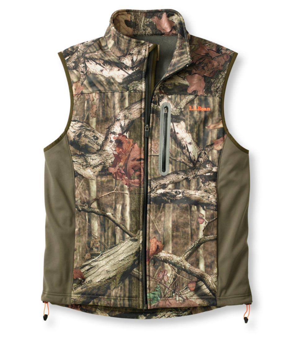 L.L.Bean Big-Game WINDSTOPPER Soft-Shell Vest, Camouflage