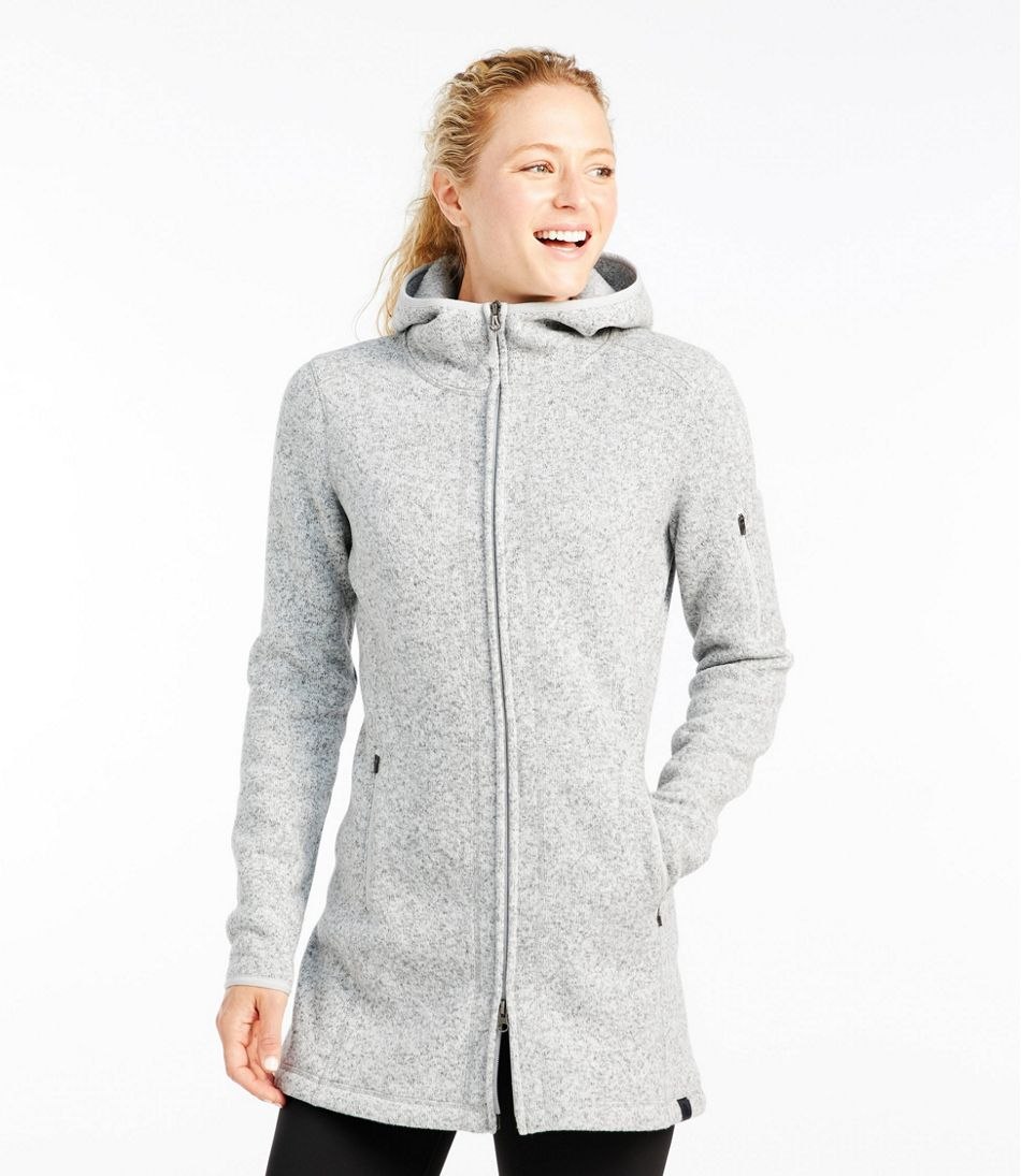 Women S L Bean Sweater Fleece Coat