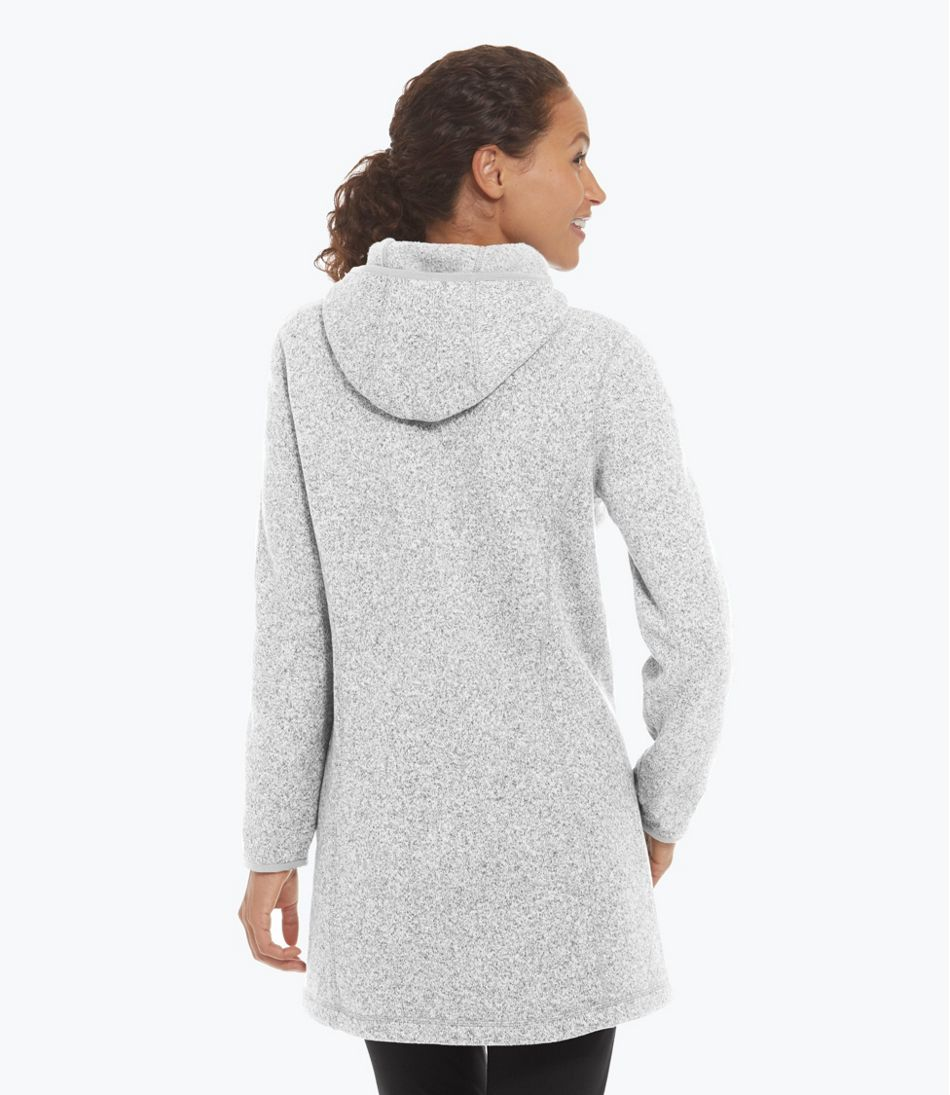Women's L.L.Bean Sweater Fleece Coat