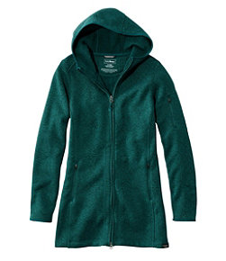 Women's L.L.Bean Sweater Fleece Coat