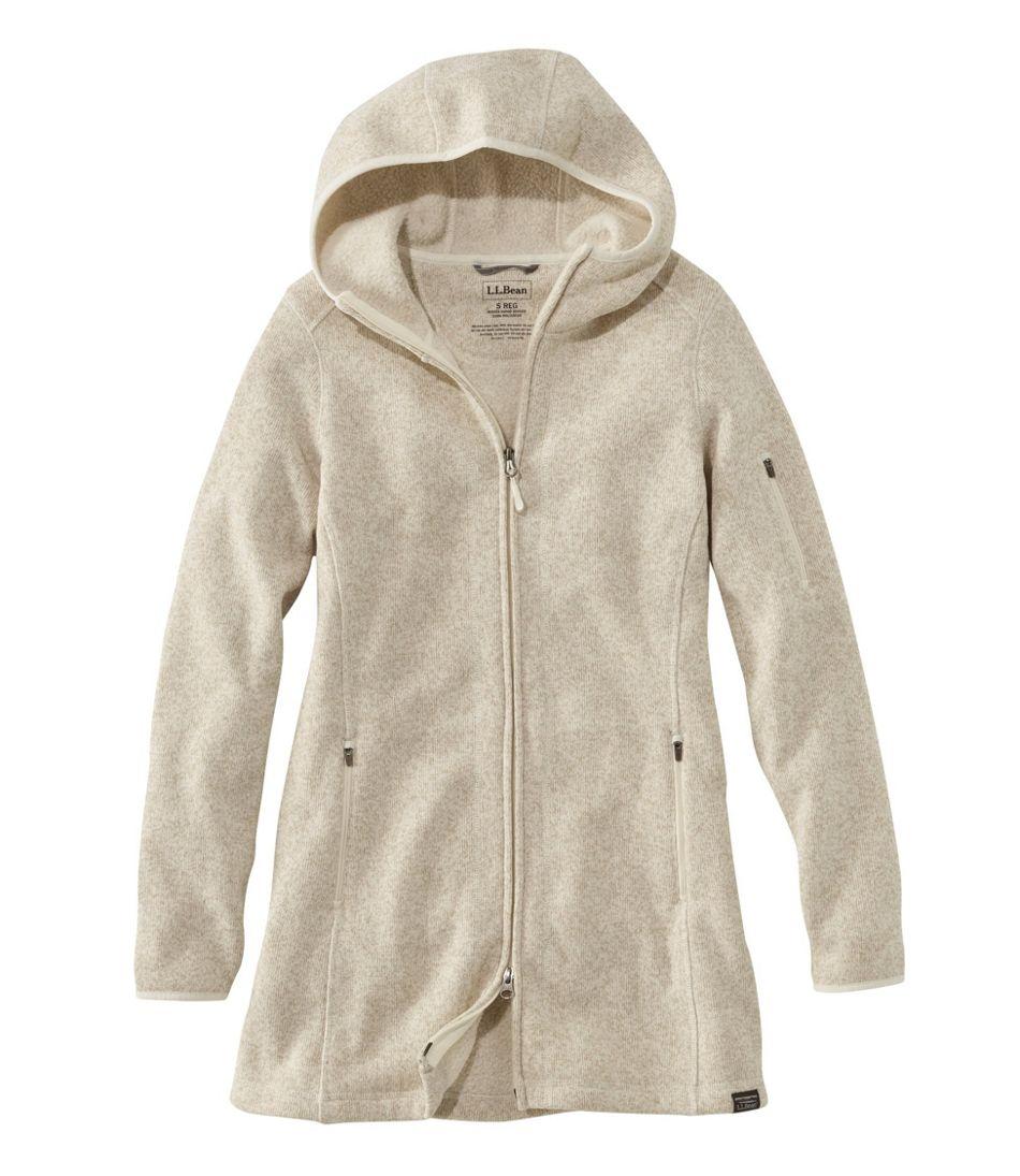 deab04903 L.L.Bean Sweater Fleece Coat