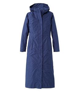 Women's H2OFF Raincoat, Mesh-Lined Long