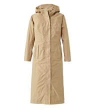 H2OFF Raincoat, Mesh-Lined Long