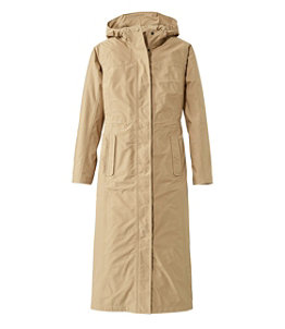 Women's H2OFF Raincoat, Mesh-Lined Long