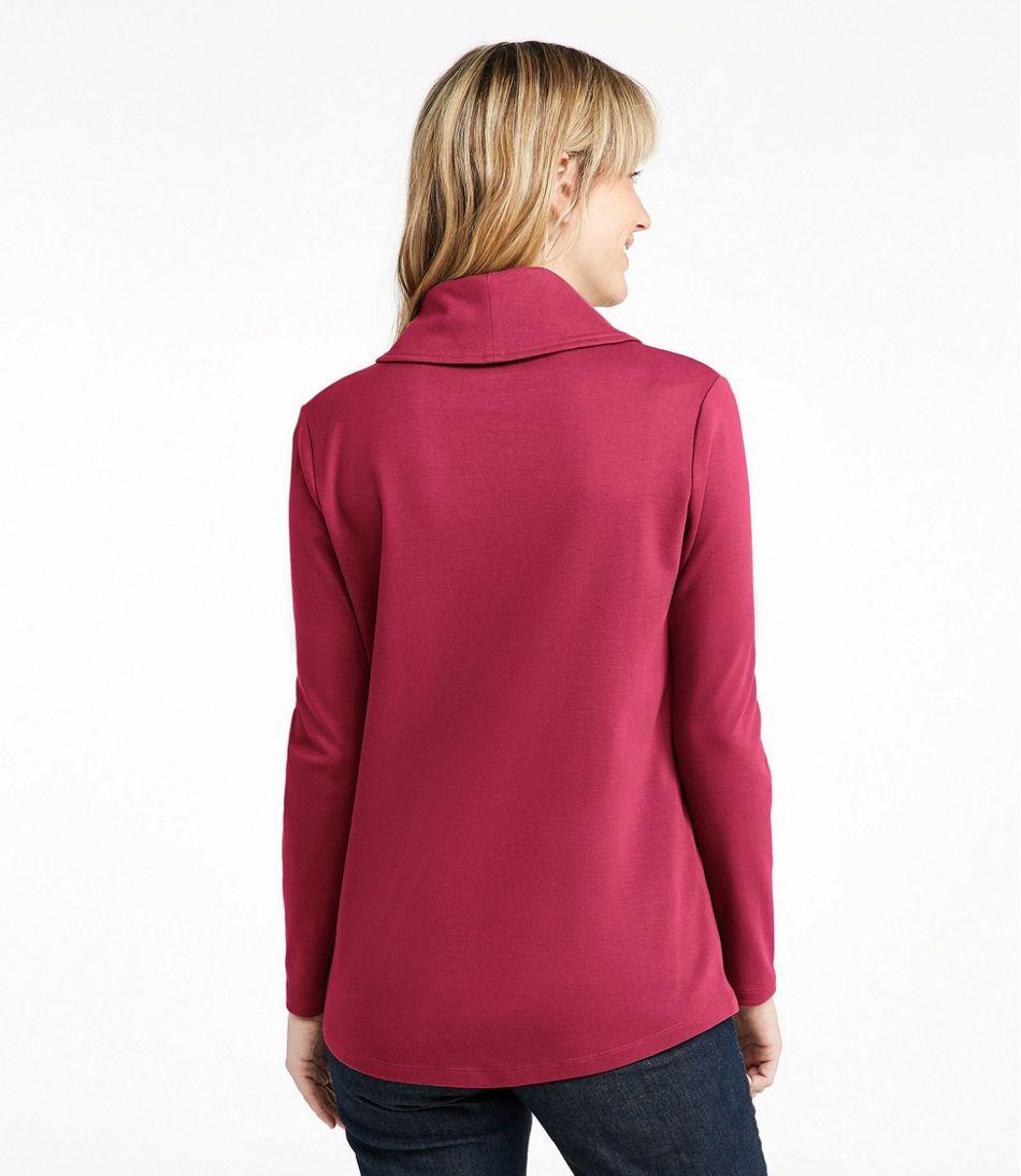 Women's L.L.Bean Pullover, Long-Sleeve Shawl Collar
