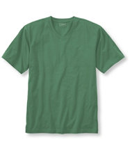 Carefree Unshrinkable Tee, Traditional Fit Short-Sleeve V-Neck