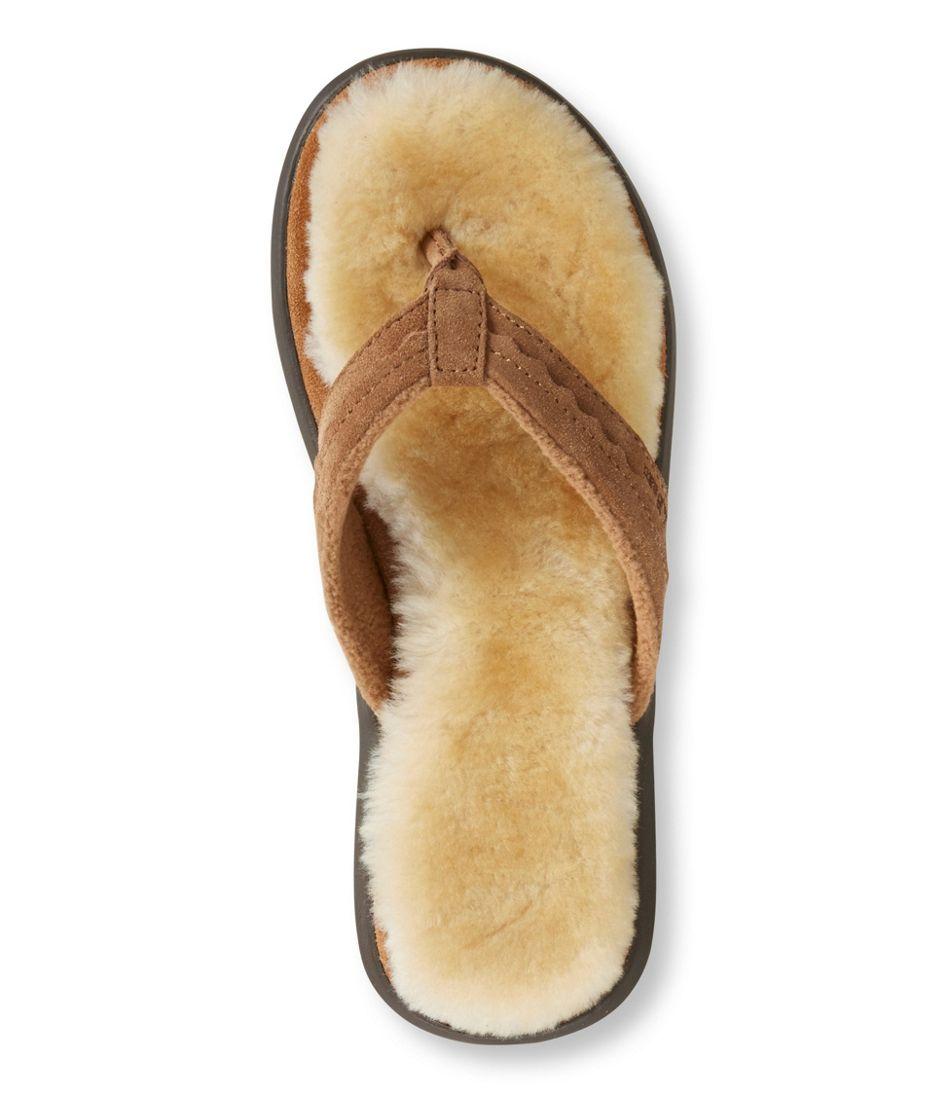 Ll Bean Fuzzy Flip Flops