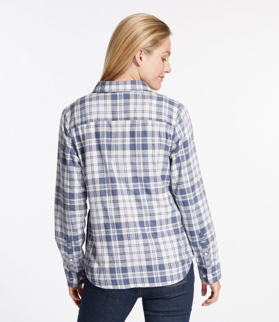 Jersey-Lined Flannel Shirt