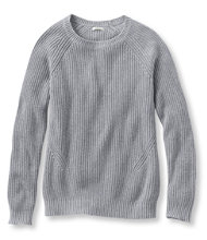 L.L.Bean Shaker-Stitch Crewneck Sweater