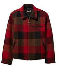 Signature Wool Bomber Jacket, Check