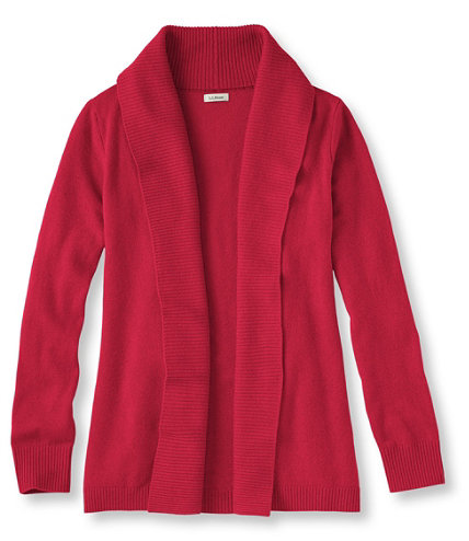 Classic Cashmere Sweater, Open Cardigan | Free Shipping at L.L.Bean.