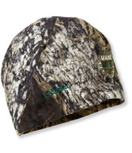Maine Inland Fisheries and Wildlife Camouflage Beanie, Jumping Deer