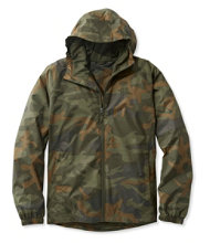 Men's Discovery Rain Jacket, Camouflage