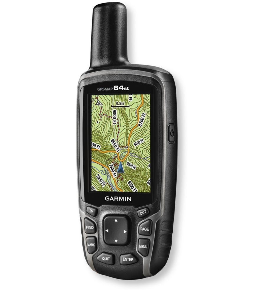 photo: Garmin GPS 64st handheld gps receiver