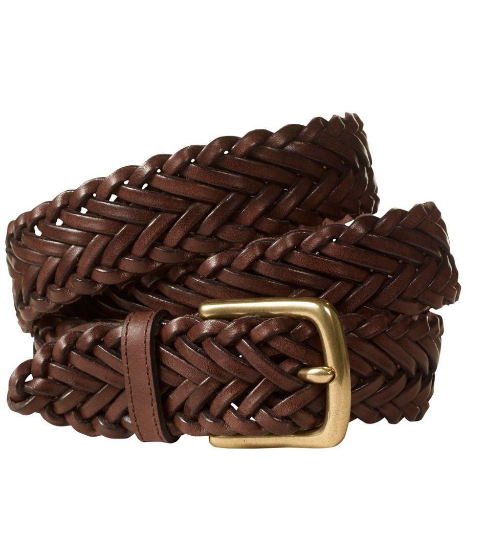 Men's Essential Braided Leather Belt