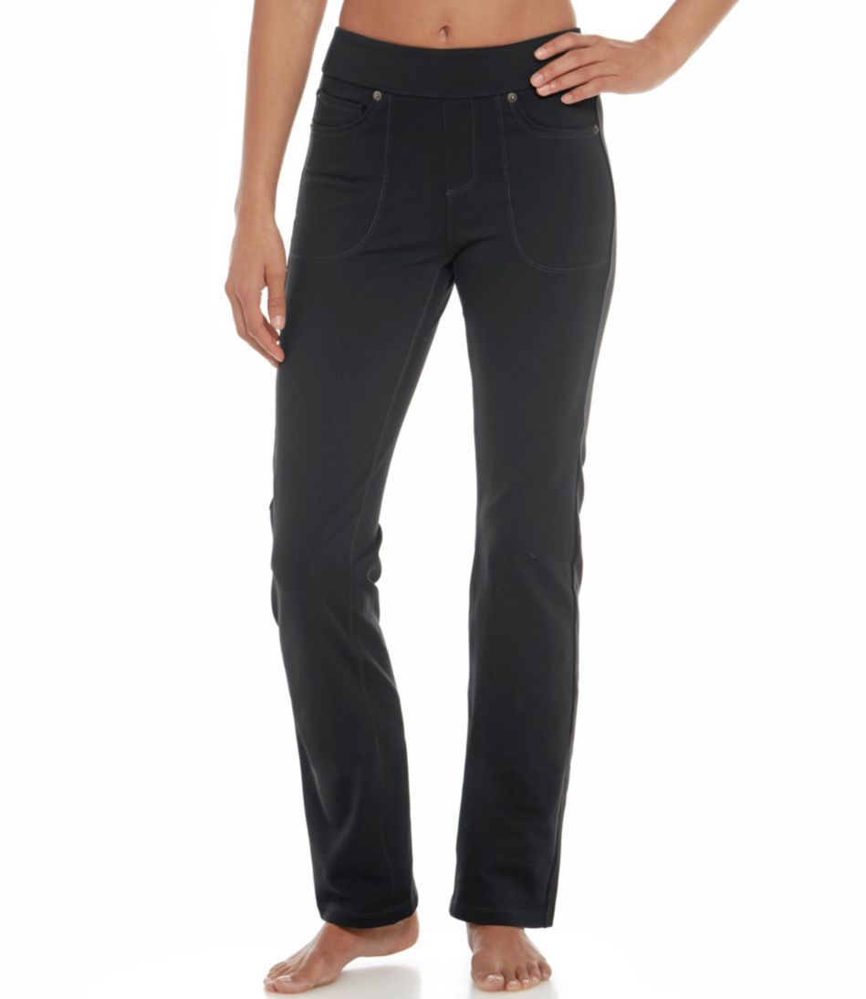 5-Pocket Performance Pants, Straight Leg