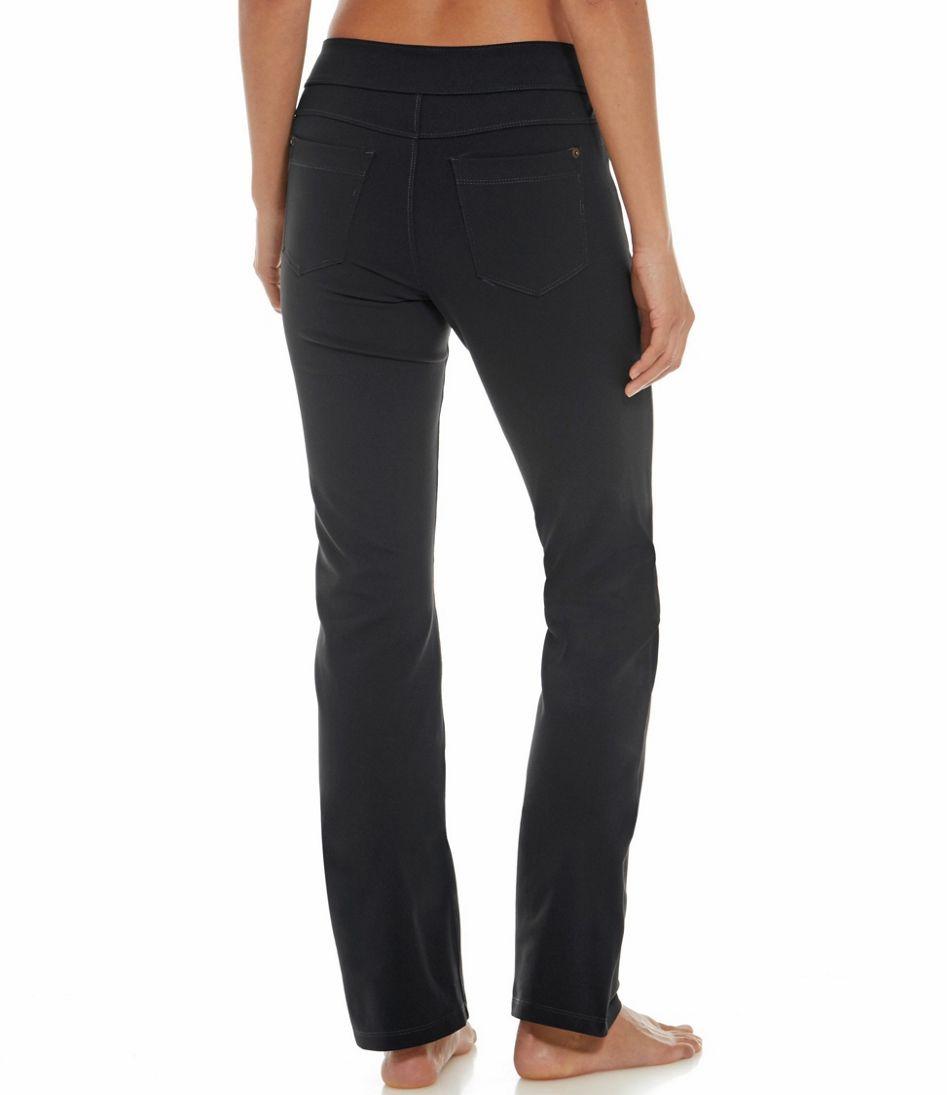 5-Pocket Performance Pants, Straight Leg