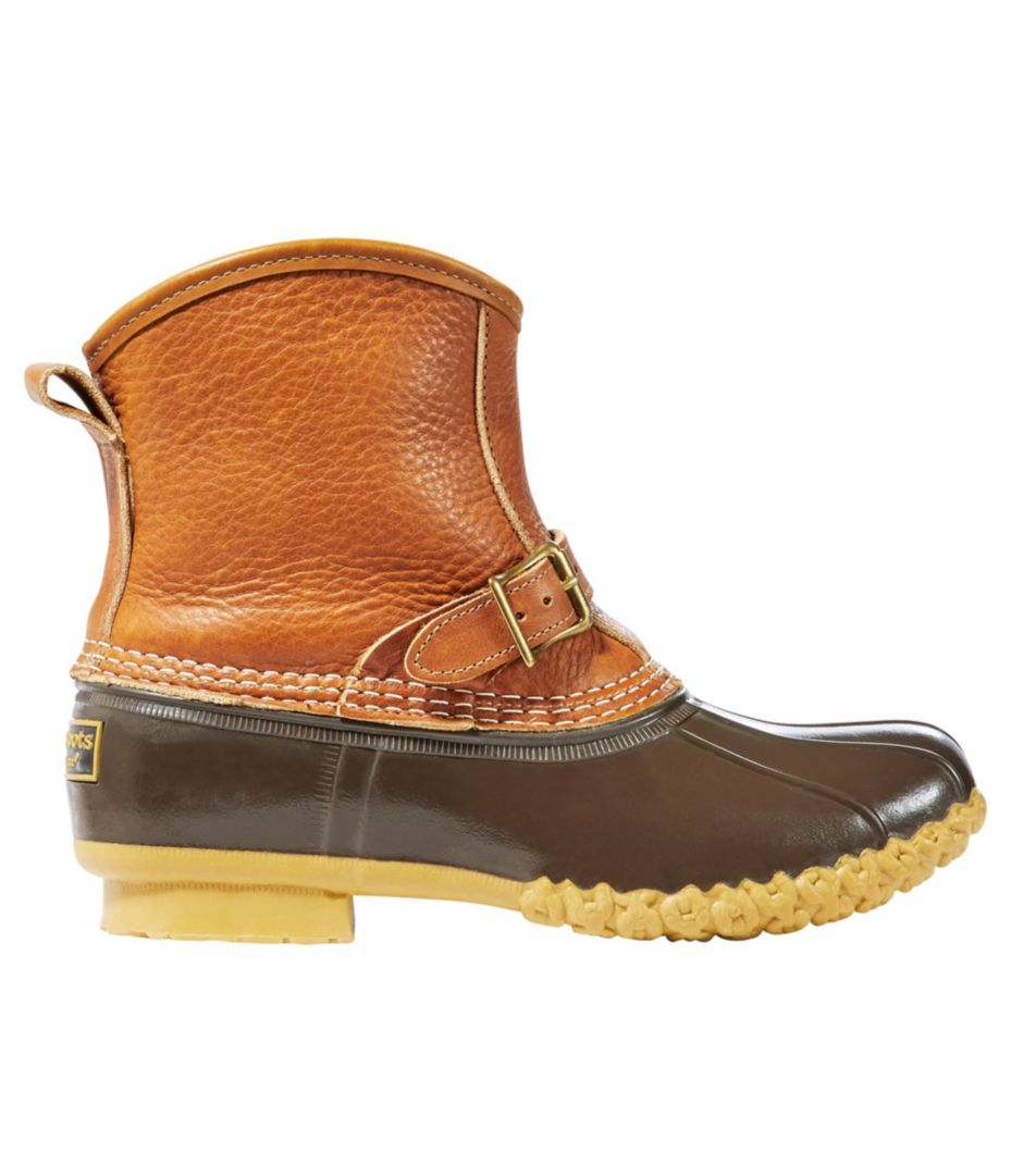 Womens Tumbled Leather Llbean Boots 7 Shearling Lined Lounger D Island Shoes Style Hikers Dm Mens Cokelat