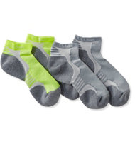 CoolMax Nano Glide Multisport Socks, Two-Pack