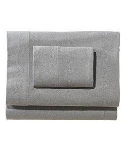 Heritage Chamois Flannel Sheet Collection, Heather