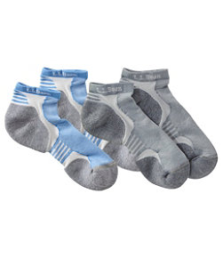 Women's CoolMax NanoGlide Multisport Socks, Two-Pack