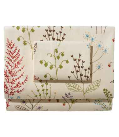 Ultrasoft Comfort Flannel Sheet Collection, Botanical Floral