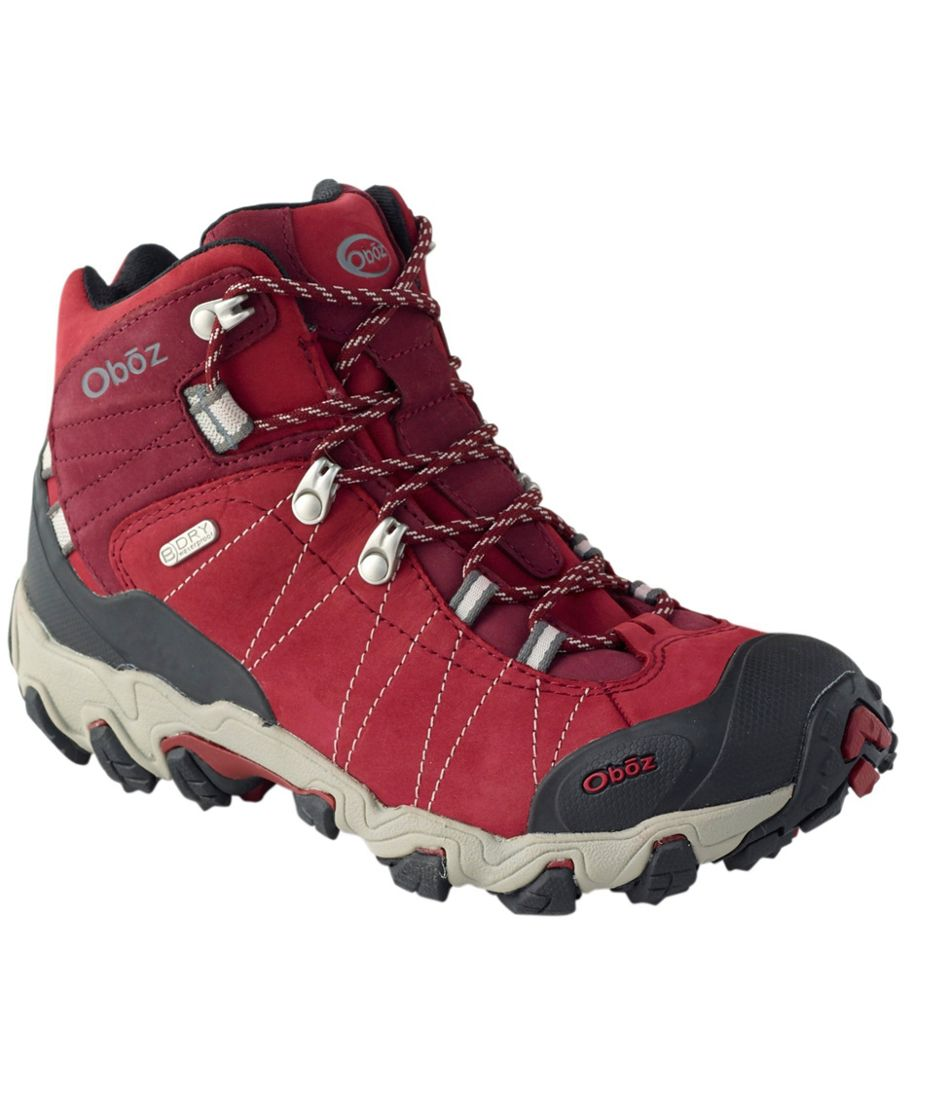 Women's Oboz Bridger Waterproof Hiking Boots