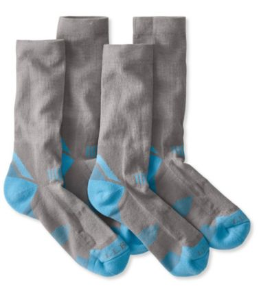 All-Sport PrimaLoft Socks, Lightweight Crew Two-Pack