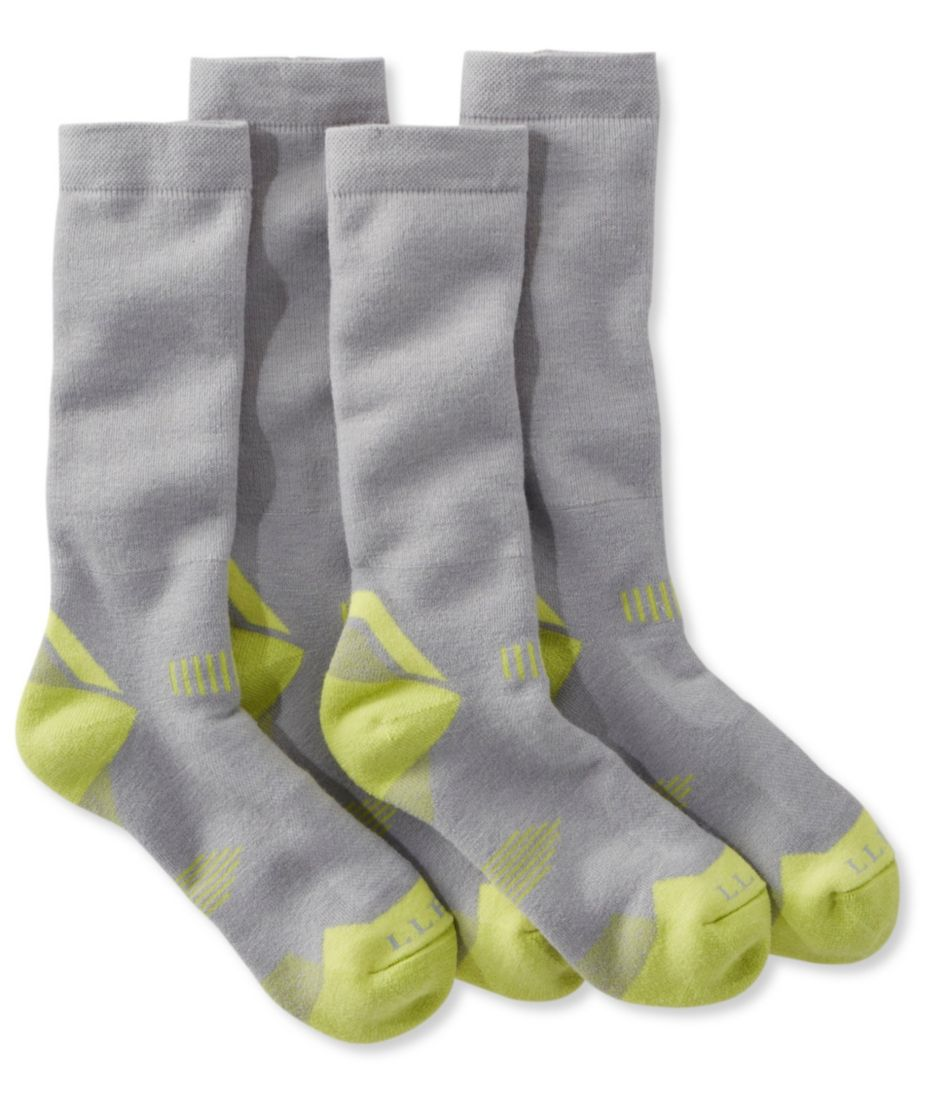 All-Sport PrimaLoft Socks, Midweight Crew Two-Pack