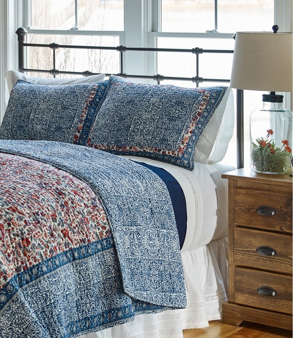 Sunwashed Pintuck Sheet Collection