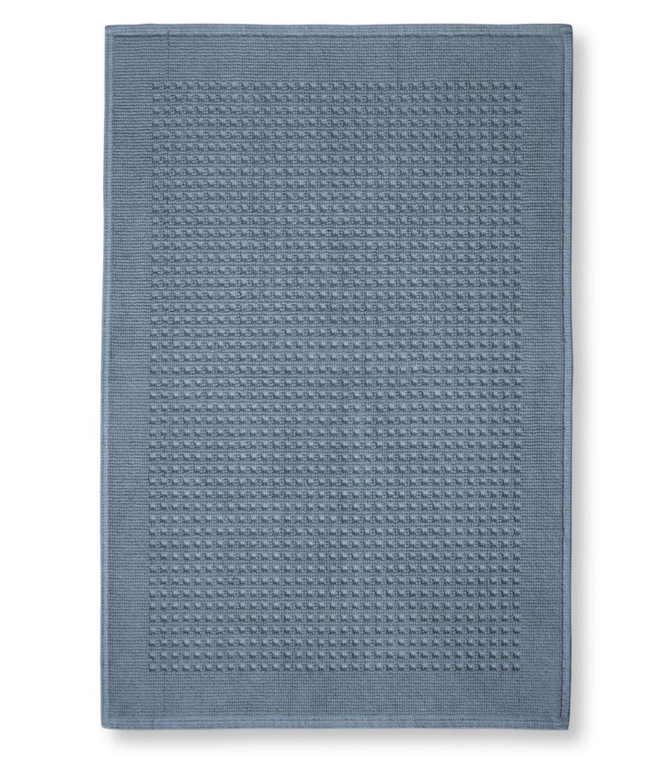 Textured Cotton Bath Mat