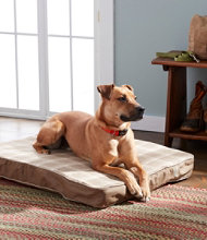 Premium Fleece Dog Bed Set, Rectangular