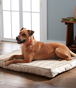 Premium Fleece Therapeutic Dog Bed Set, Rectangular