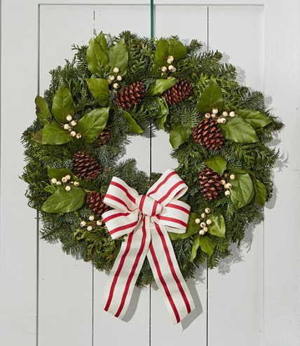 Woodland Snowberry Christmas Wreath