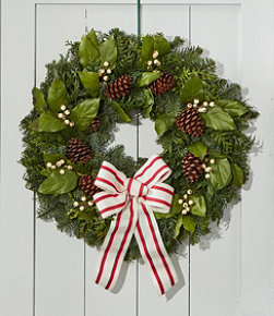 Woodland Snowberry Wreath, 24""